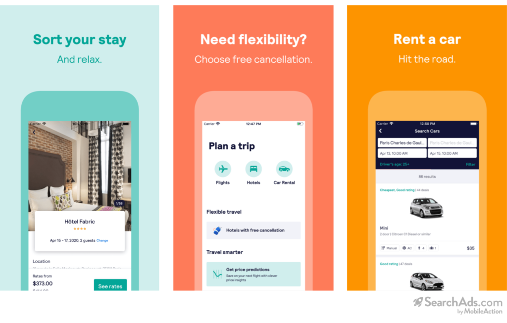 Skyscanner Probable Creative Set for Booking/Rentals