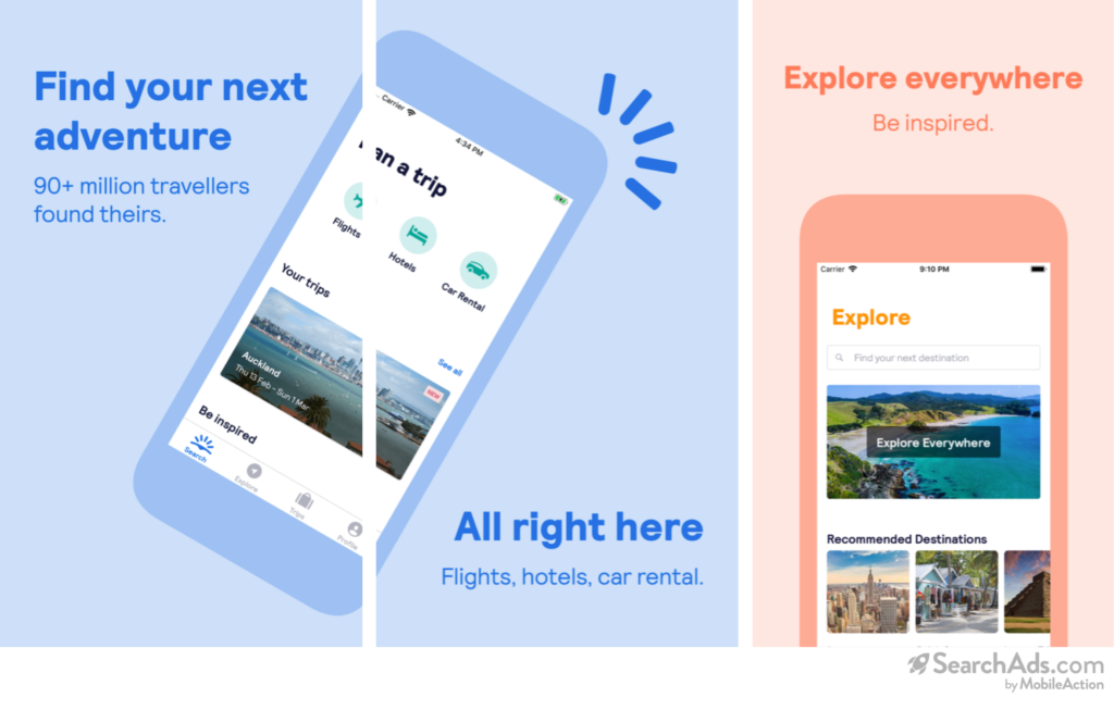 Skyscanner Probable Creative Set for Sightseeing