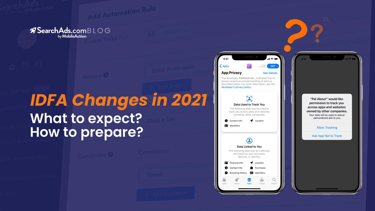 idfa changes 2021