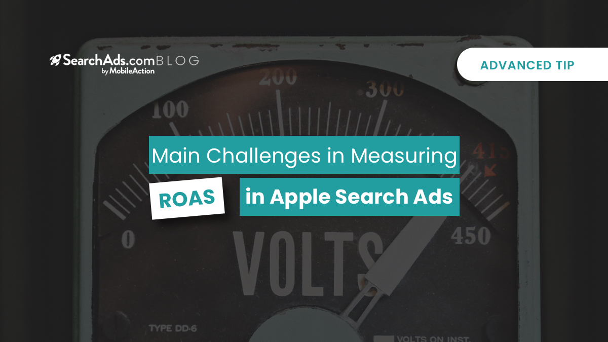 apple search ads roas