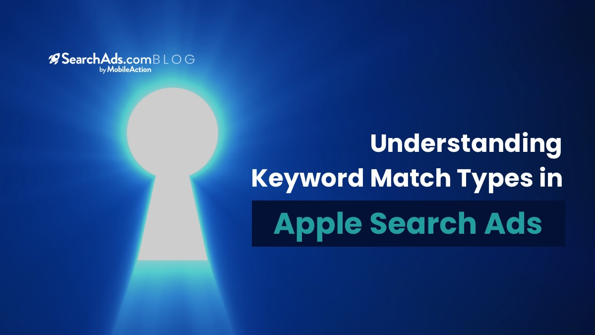 apple search keyword match types exact broad