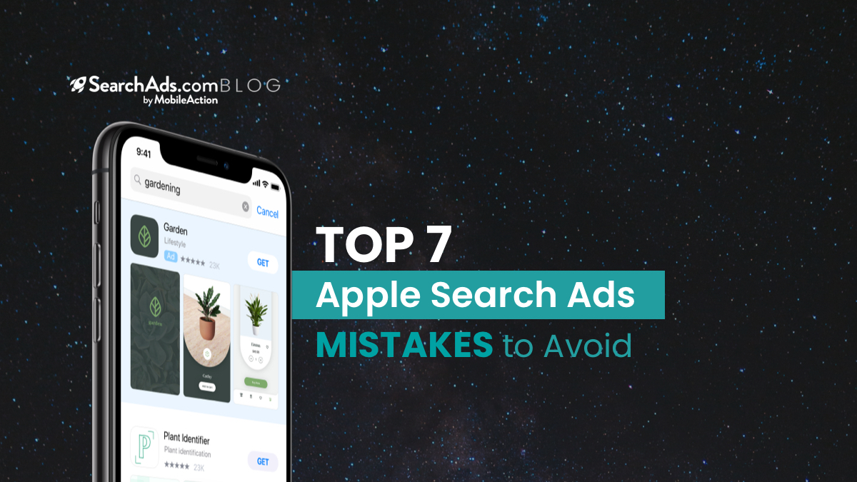 apple search ads mistakes