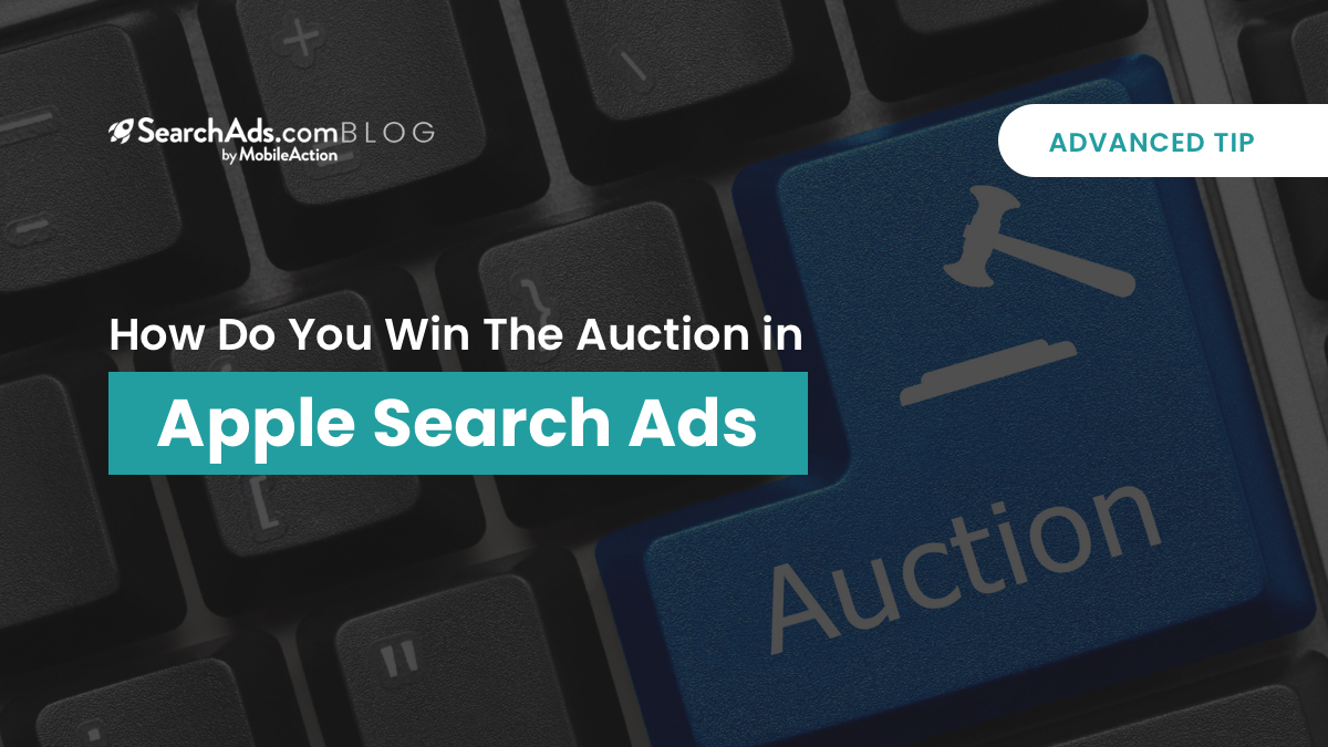 win auction apple search ads