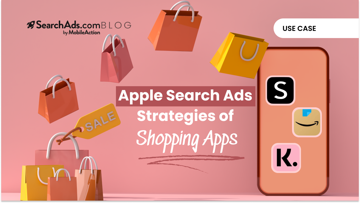 shopping apps apple search ads