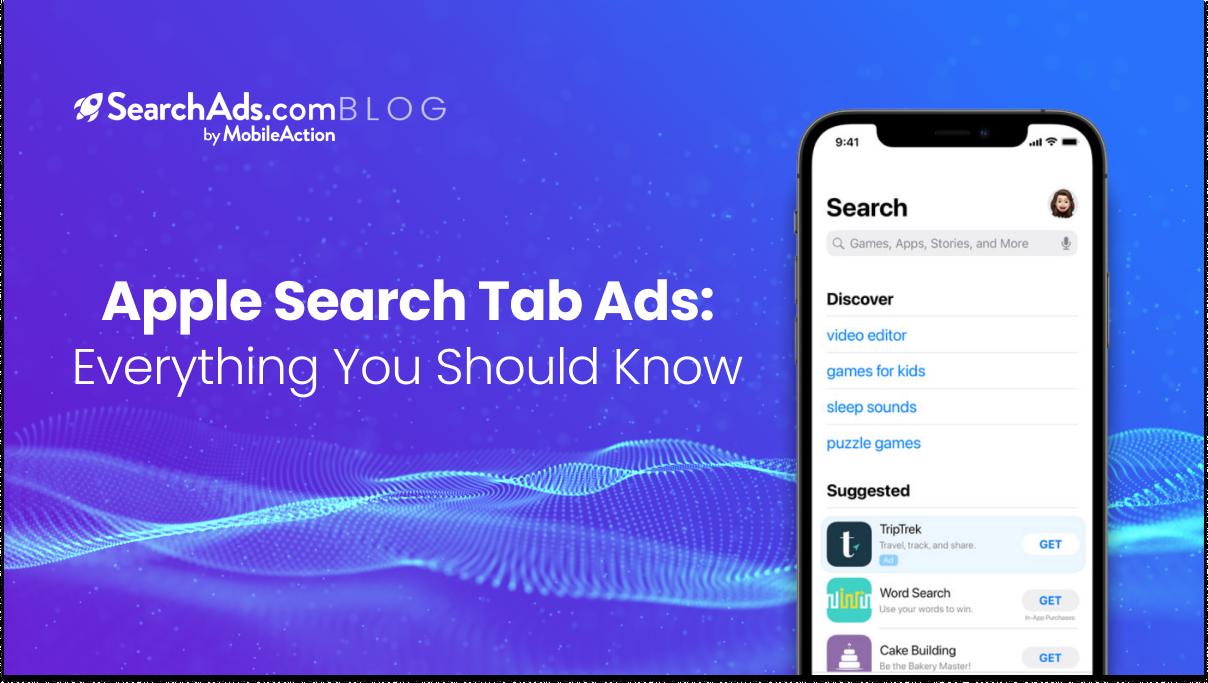 apple search tab ads