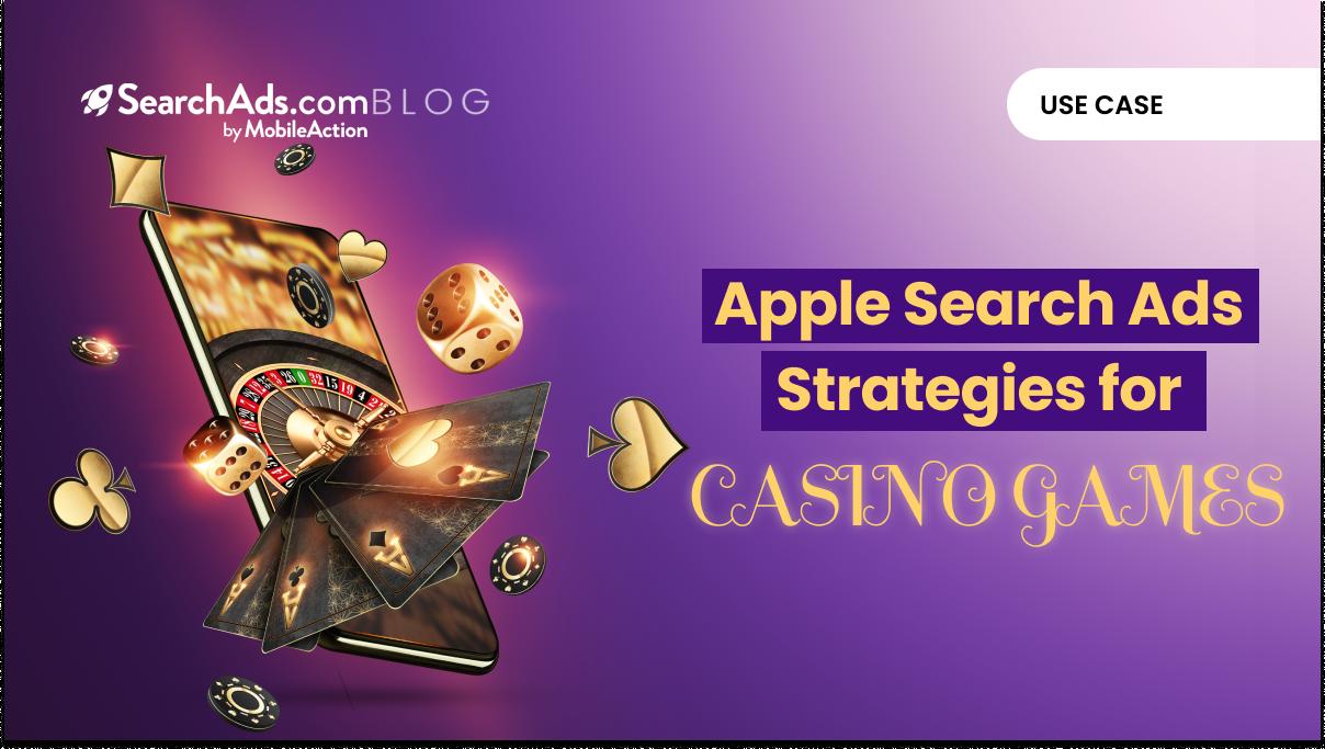 apple search ads casino games