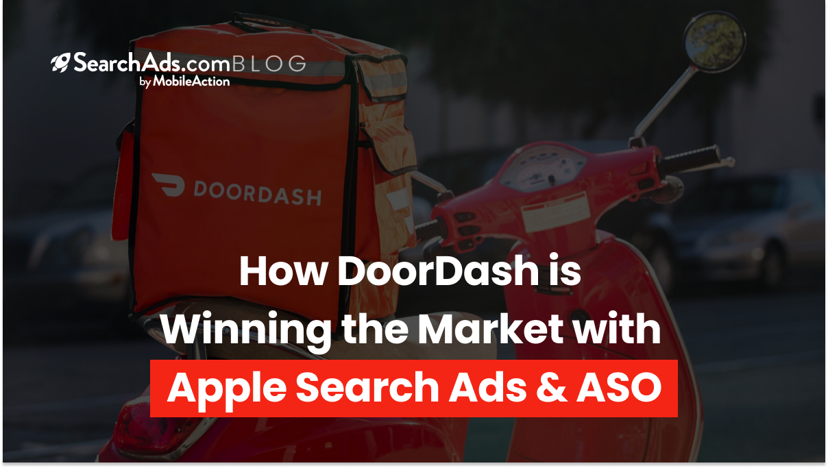 apple search ads strategy doordash