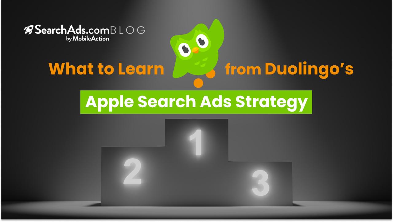 duolingo apple search ads